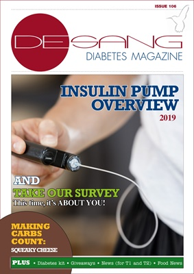 Free online Desang diabetes magazine diabetes information, insulin pump overview