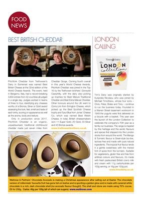 Desang magazine, diabetes food news, Pitchfork Cheddar