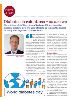 Diabetes UK, World Diabetes DayDiabetes UK