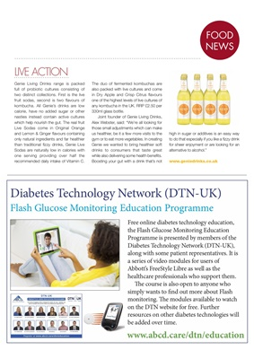 Association of British Clinical Diabetologists (ABCD), Diabetes Technology Network (DTN), Libre Flas