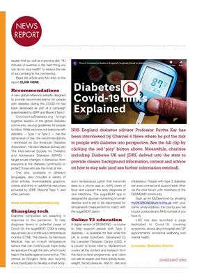 diabetes, coronavirus and Covid-19
