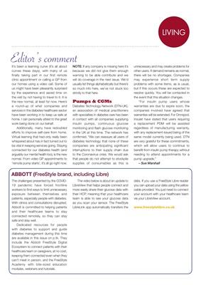 Abbott FreeStyle Libre, DTN diabetes technology network