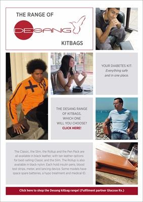 Desang diabetes kitbags, bag for diabetes kit