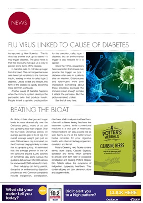 Flu Virus linked to diabetes diagnosis