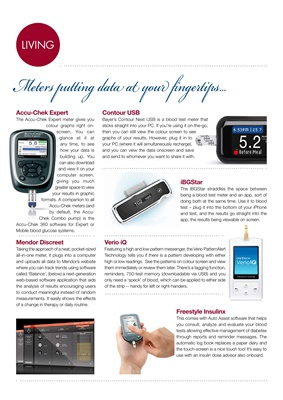 blood test meters and blood testing