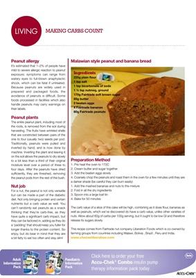 Desang diabetes magazine carb-counting for diabetes