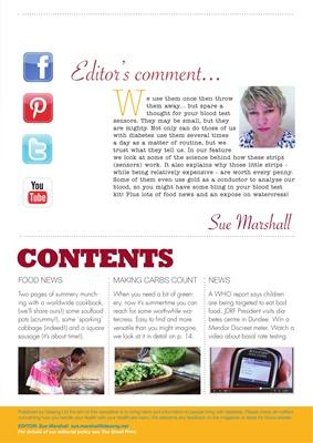 Desang diabetes online magazine