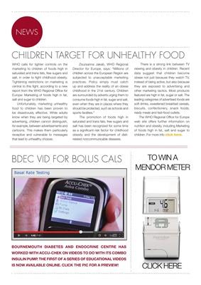Desang diabetes news