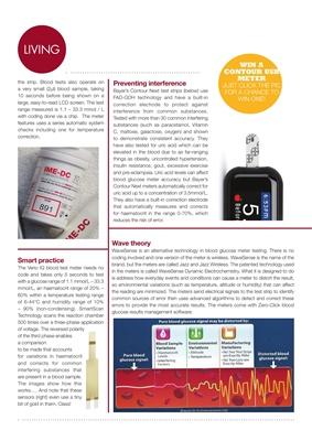 Blood test meters, blood testing, type 1 diabetes, desang diabetes