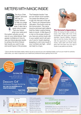 blood test meters with bolus wizards