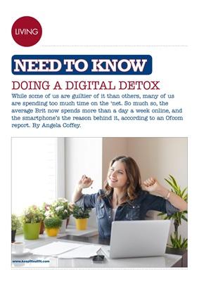 Desang diabetes magazine, digital detox, keep fit eat fit, angela coffey diabetes