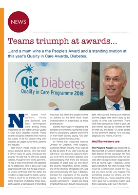 Desang diabetes magazine Quality in Care diabetes awards
