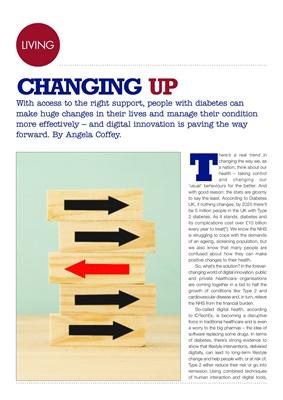 Desang diabetes magazine, behaviour change, Our Path