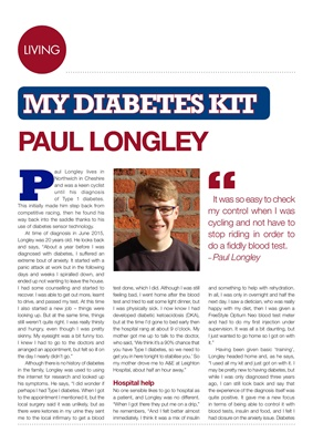 Desang diabetes magazine, My Diabetes Kit, Paul Longley