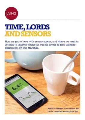 Desang diabetes magazine, Abbott Freestyle Libre sensor