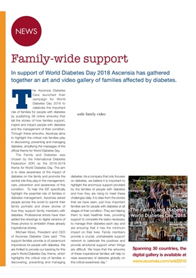 Ascensia art gallery World Diabetes day 2018 the family