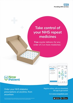 Now Patient repeat prescription delivery service