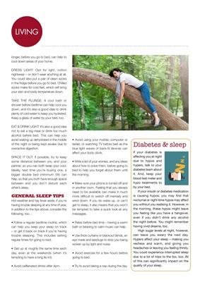 Sleeping and diabetes, sleep and diabetes, diabetes and sleep