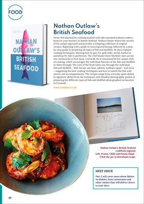 diabetes food information, cooking fish, Nathan Outlaw's British Seafood