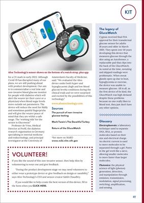New diabetes management equipment Afon Technology