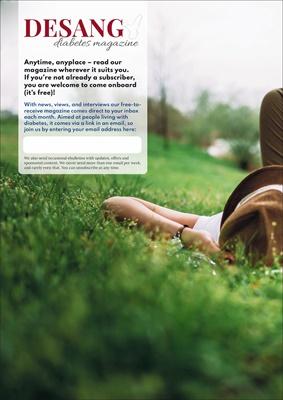 Free Desang Diabetes Magazine, diabetes technology