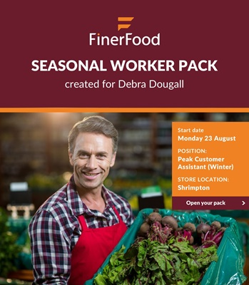 FinerFood Seasonal Worker