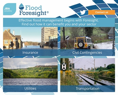 Flood Foresight sector benefits