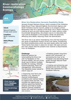 River Ure Restoration Jervaulx Feasibility Study