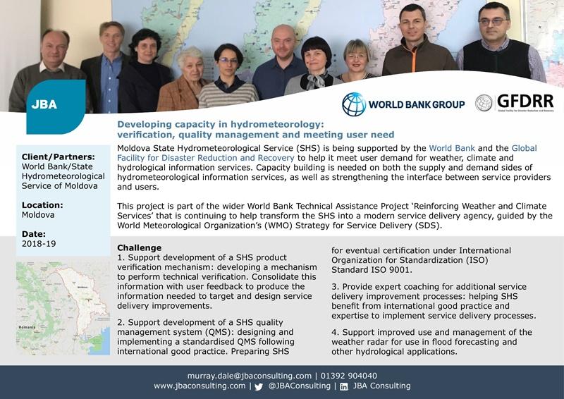 Case Study - Moldova - Hydrometeorology