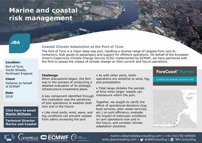 Coastal Climate Adaptation | Metocean Risk Management | JBA