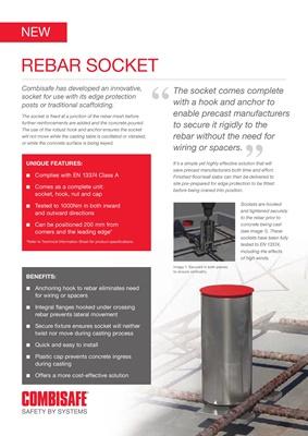Rebar Socket UK Page 1