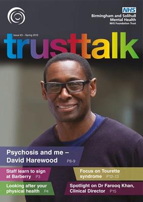 Trust Talk - TT Issue 63 Spring