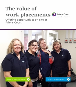 Work Placements - On-site at Prior's Court - housekeeping